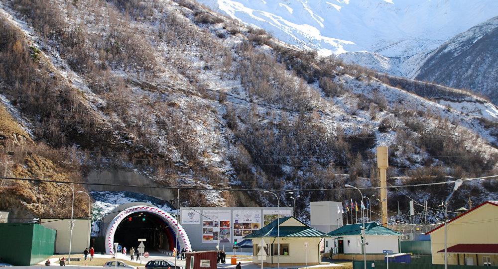 Рокский перевальный тоннель.