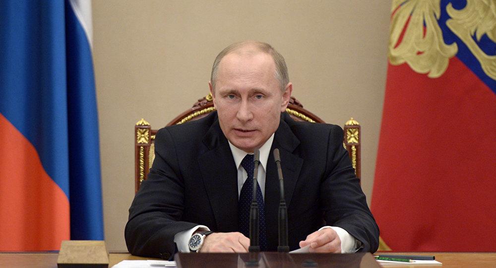 Президент РФ В.Путин провел совещание по вопросам социально-экономического развития Республики Крым и города Севастополя