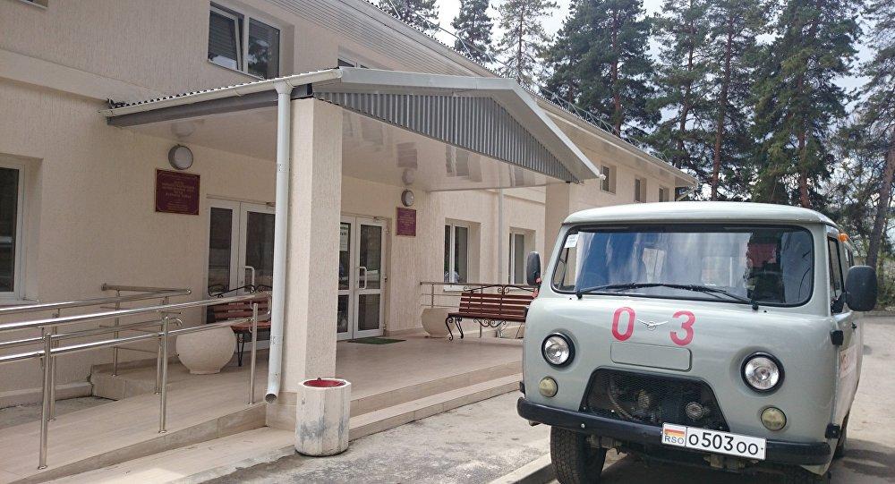 Больница в поселке Дзау