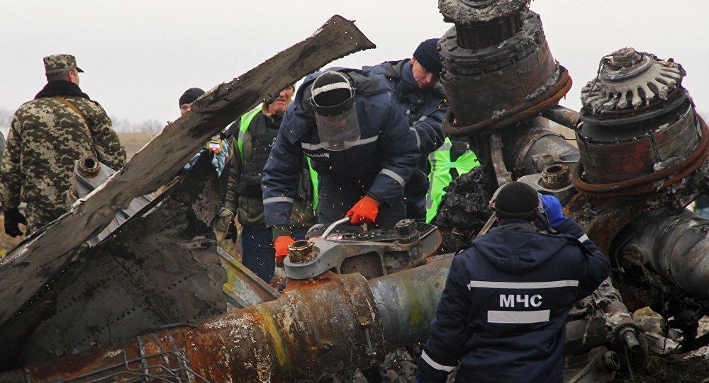Крушение самолета Boeing 777 малайзийских авиалиний