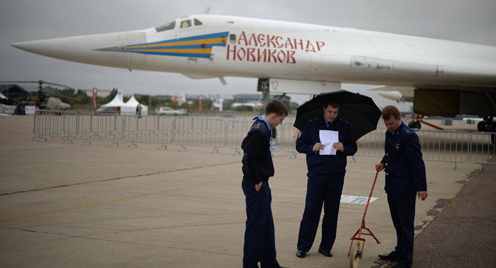 Подготовка к авиашоу МАКС 2013