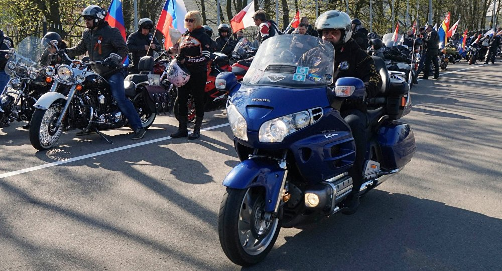 Старт ежегодного мотопробега Калининград – Бранево