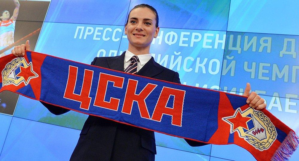 Елена Исинбаева объявила о возвращении в большой спорт