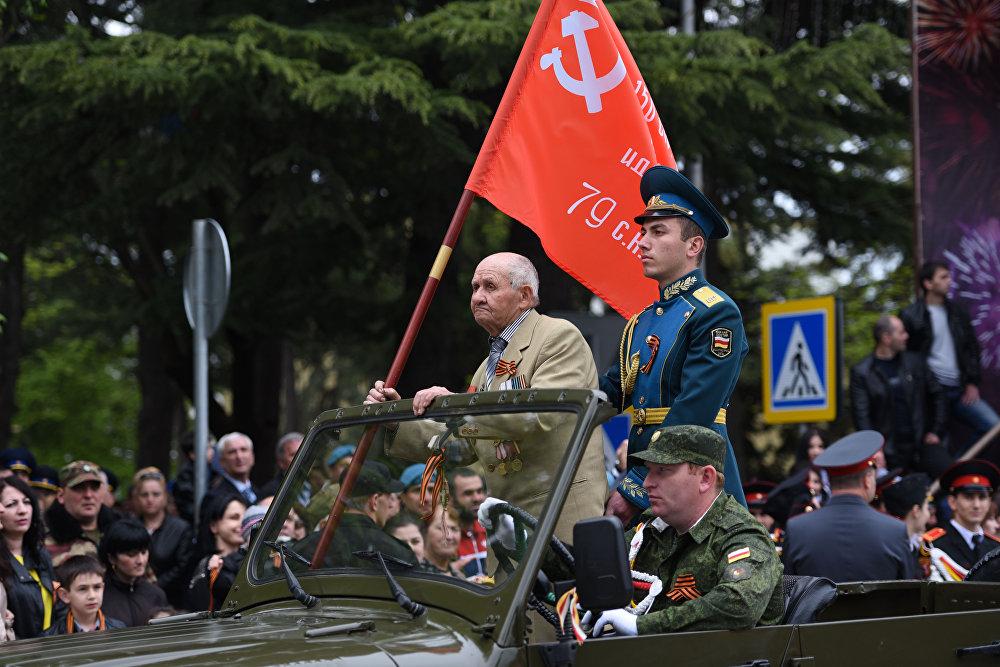 Стыр Фыдыбӕстӕйон хӕсты ветеран парады