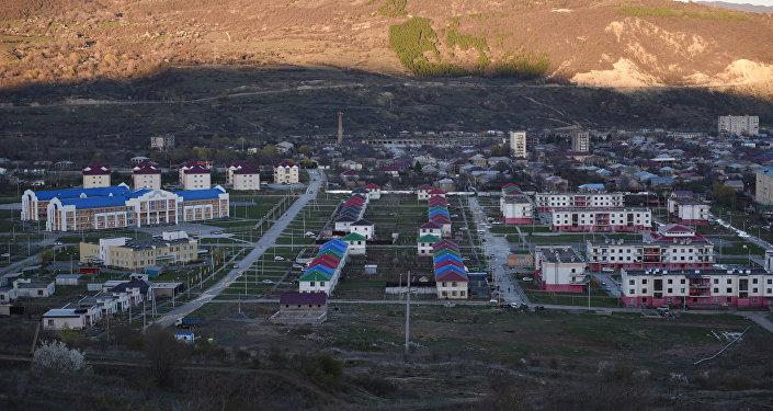Построенный в Цхинвале новый микрорайон