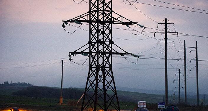 Электроснабжение отключено вЮжной Осетии