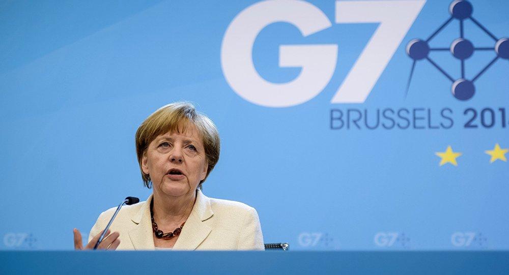Cаммит стран G7 в Брюсселе.