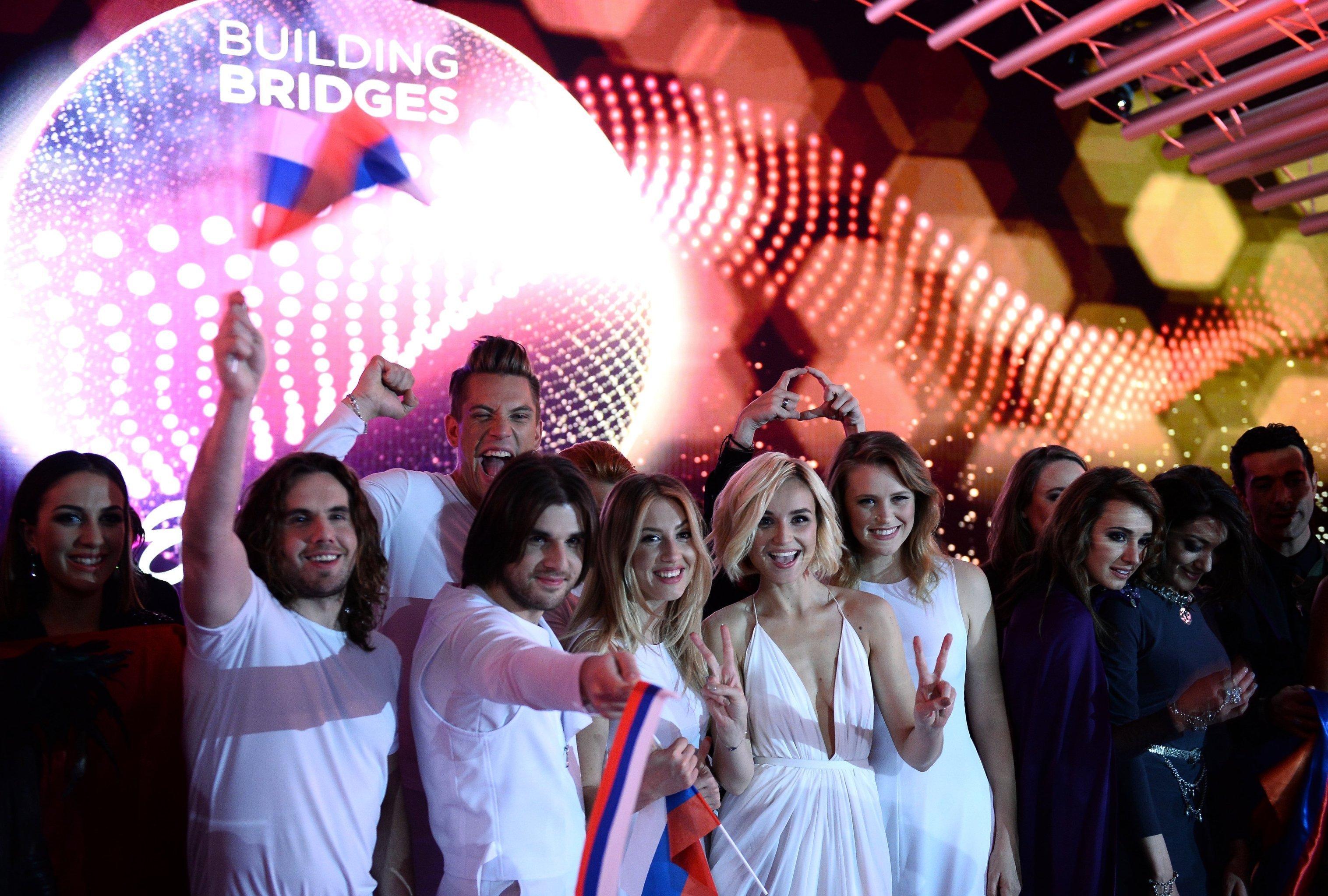 Первый полуфинал Международного конкурса песни Евровидение 2015 в Вене