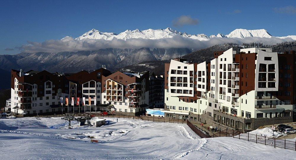 Олимпийские деревня  в Сочи