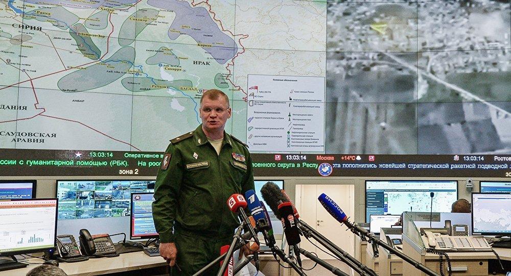 Брифинг официального представителя министерства обороны РФ И.Конашенкова