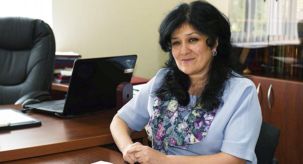 Министр образования РЮО Натали Гассиева