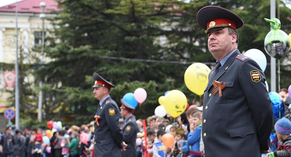 МВД Южной Осетии обеспечивает порядок на мероприятиях