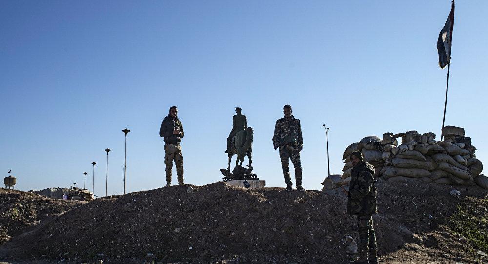 Деревни на северо-востоке Сирии, освобожденые от боевиков ИГ (ДАИШ)