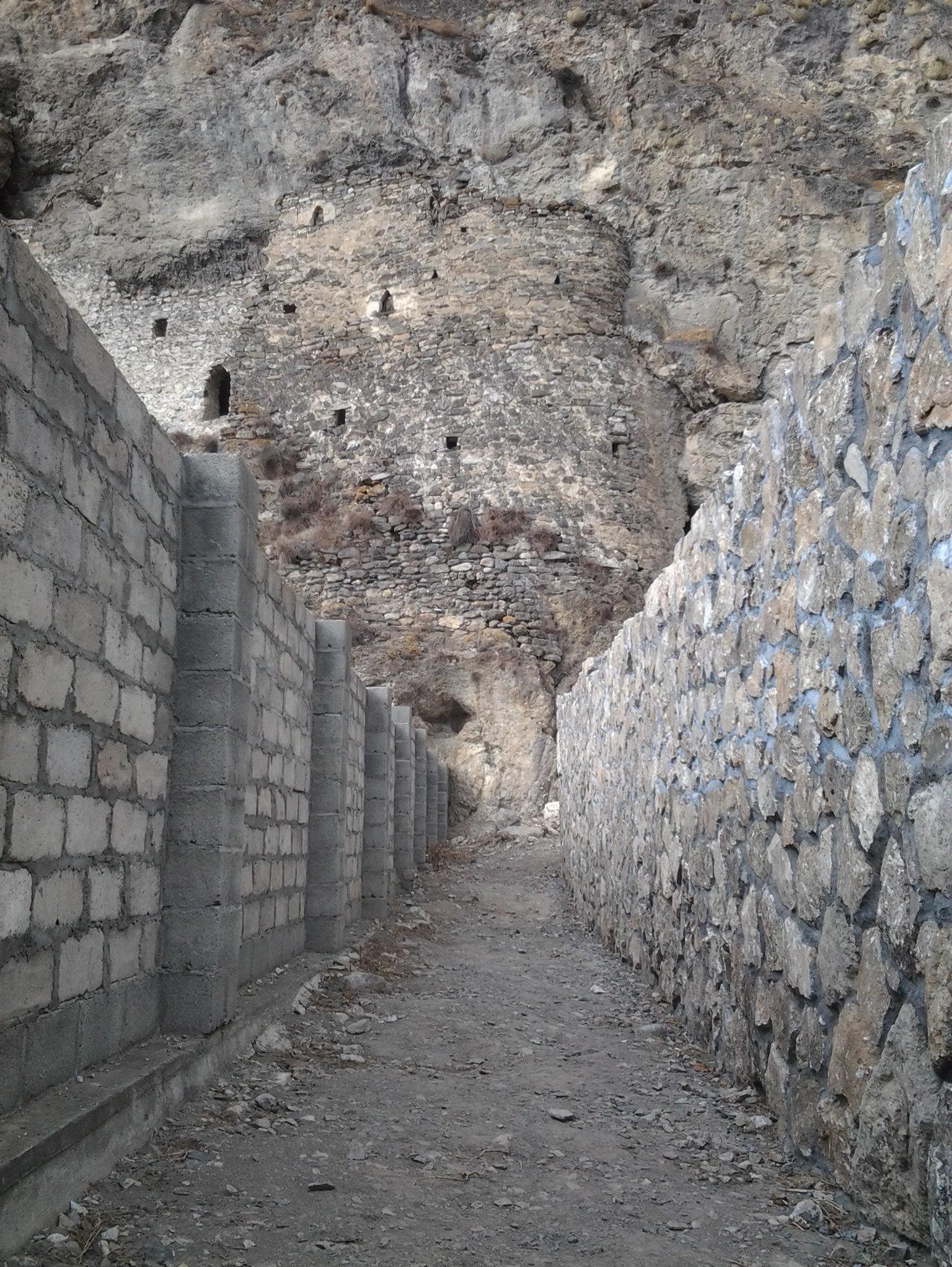 Забор около Дзивгисской креспости