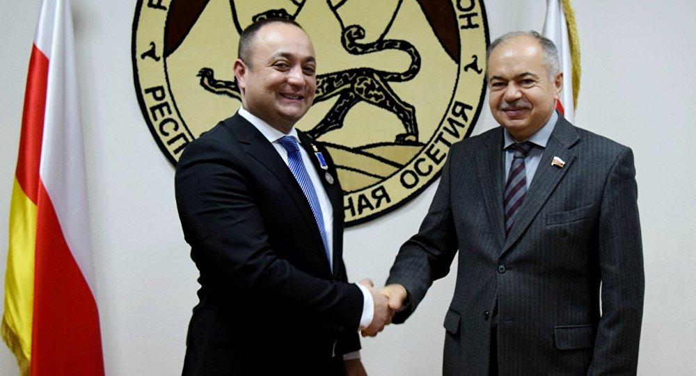 Посла Южной Осетии наградили в Совете Федерации РФ