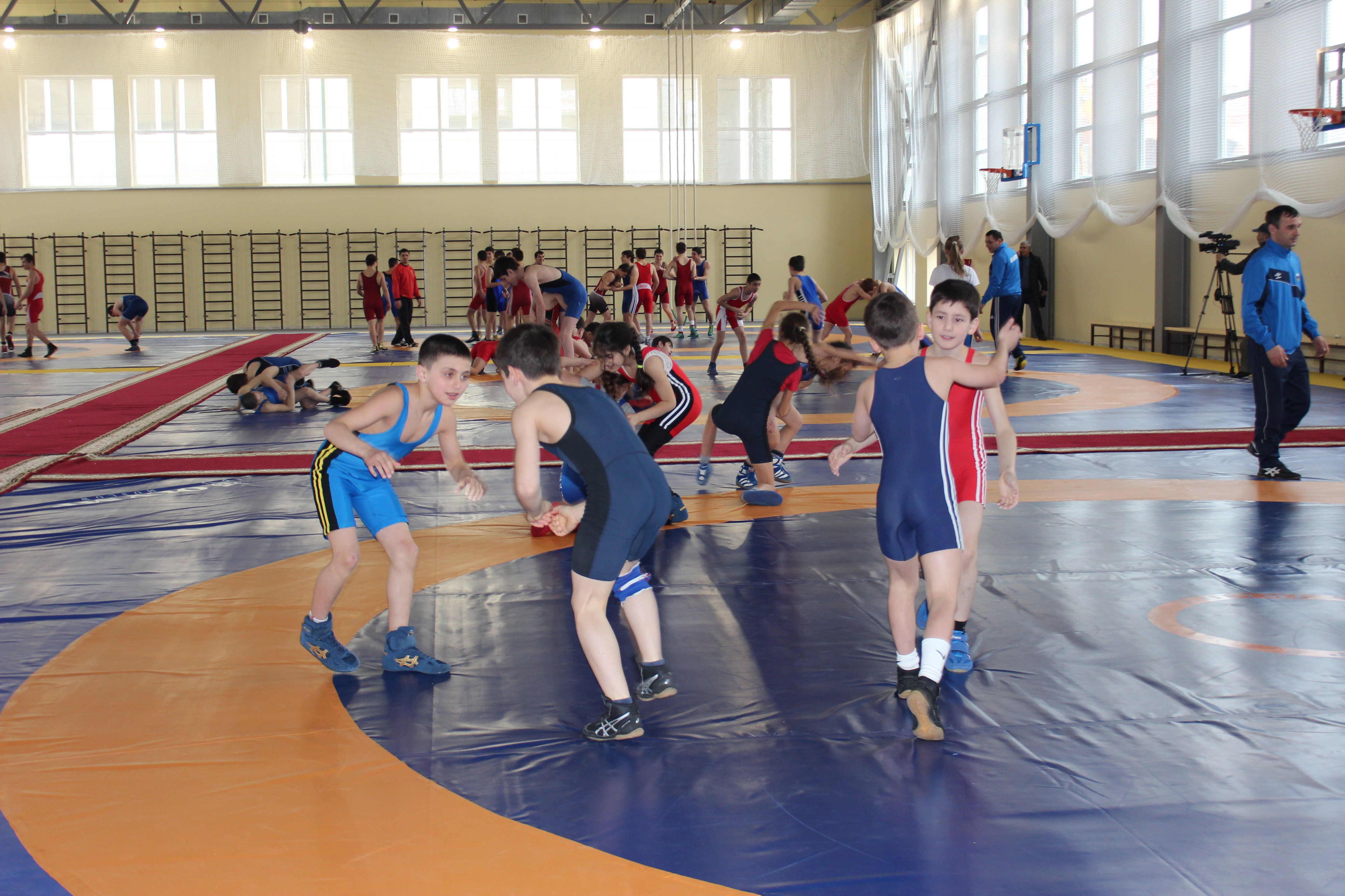 Открытие академии борьбы во Владикавказе