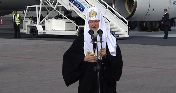 СПУТНИК_Патриарх Кирилл в Гаване напомнил о давней дружбе между Россией и Кубой