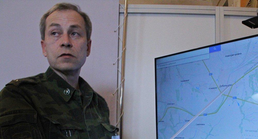 Заместитель командующего ополчением ДНР Эдуард Басурин