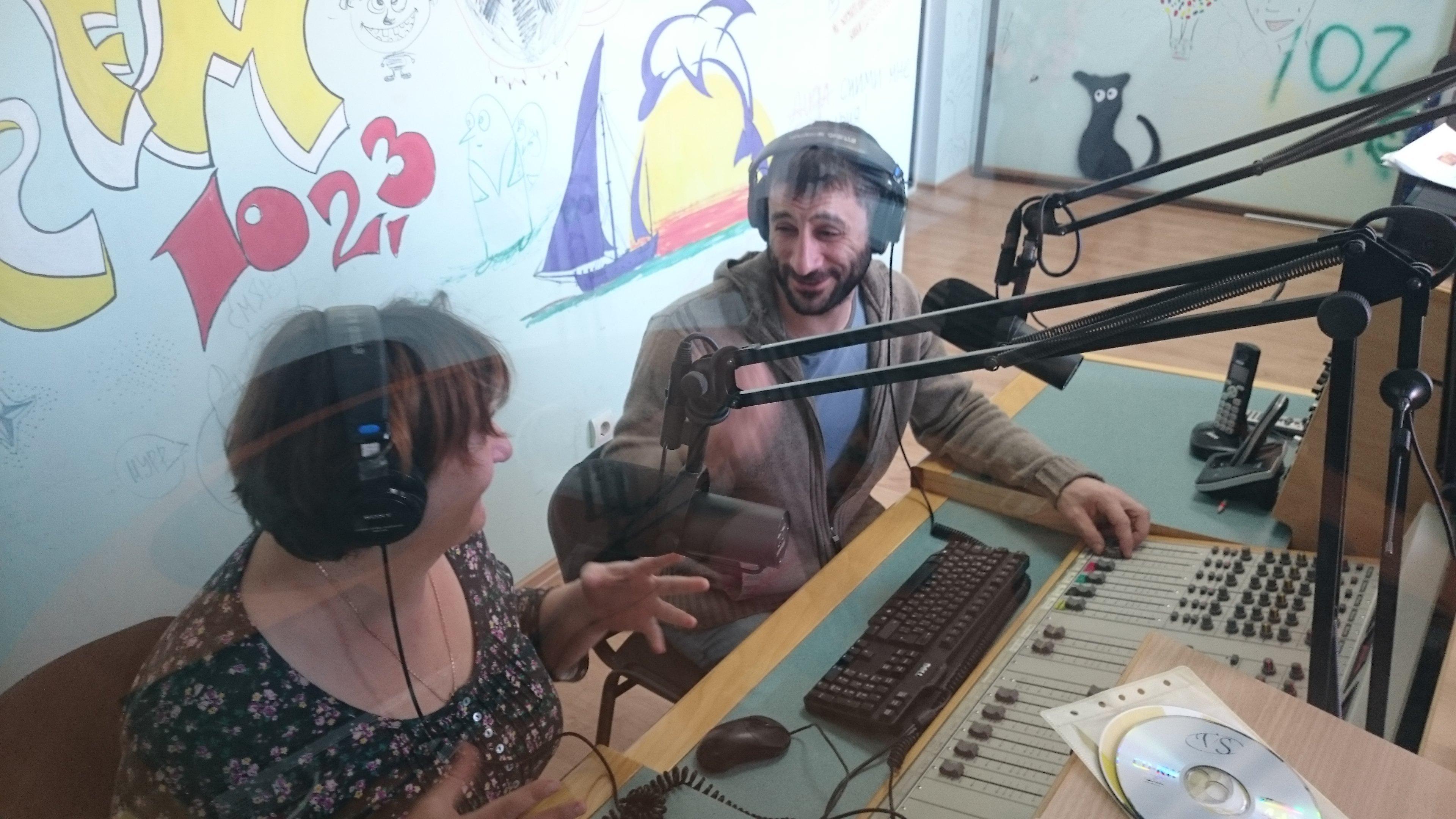 Эфир на радио Ир
