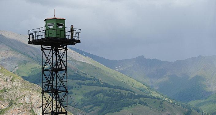 Пограничная застава в Республике Алтай