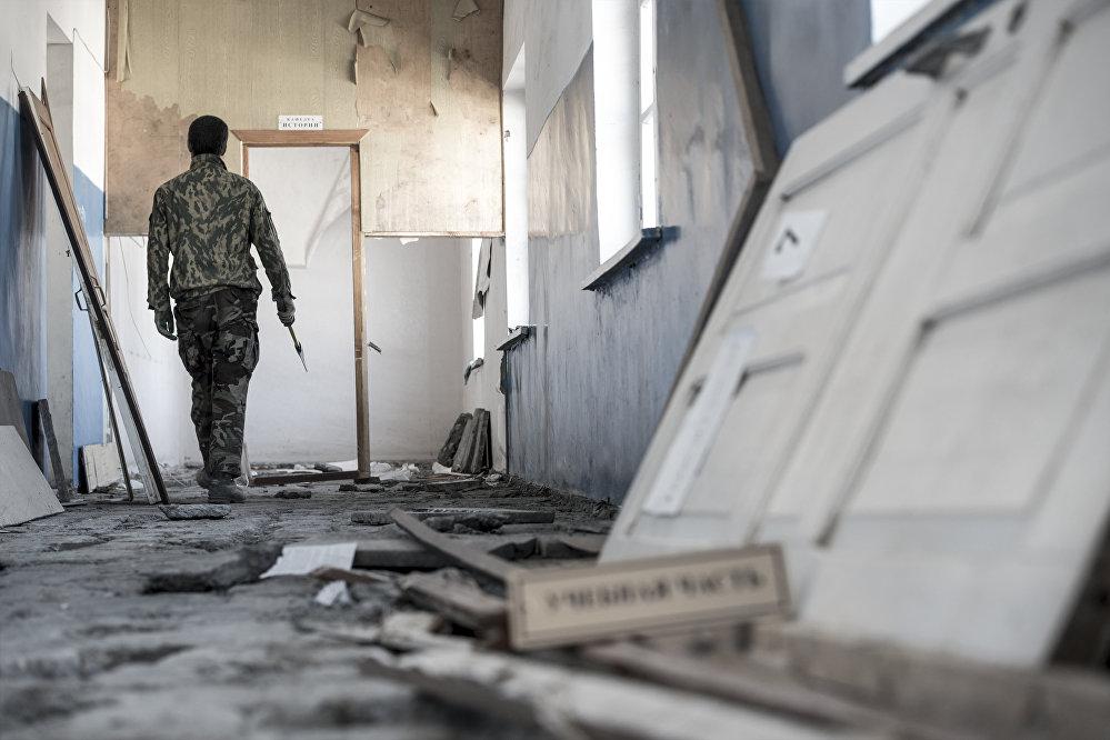 Согласно проекту на месте сгоревших корпусов будет возведен единый учебный корпус.