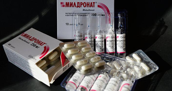 Лекарственный препарат мельдоний, запрещенный Всемирным антидопинговым агентством