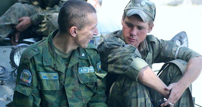 Миротворцы ССПМ в Южной Осетии