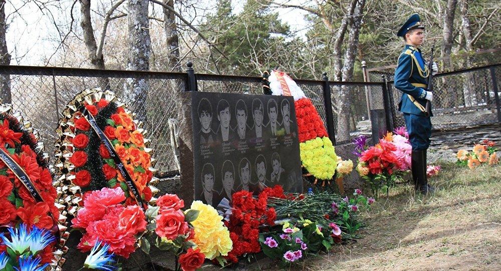 Могила жертв Ередской трагедии