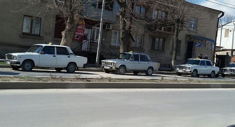 Такси, Цхинвал