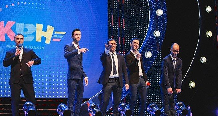 Владикавказская команда КВН На характере выступает в Минске