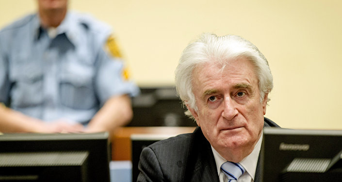 Экс-лидер боснийских сербов Радован Караджич