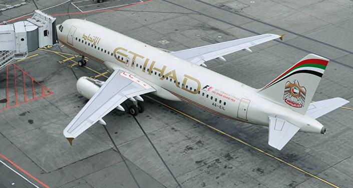 Пассажирский самолет Аэробус А320