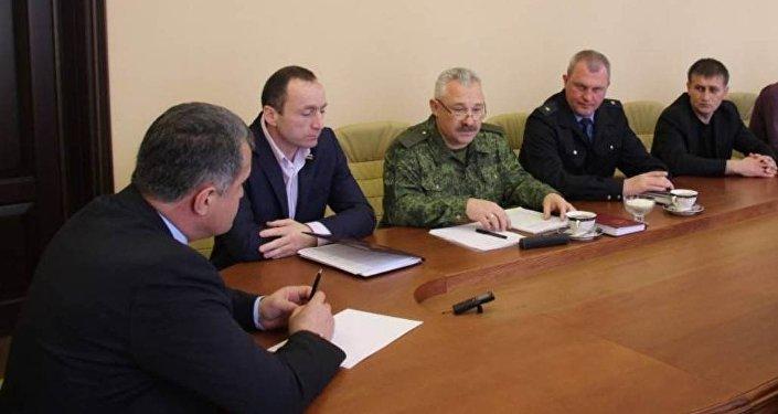 Встреча руководства Погранслужбы и депутатов парламента РЮО