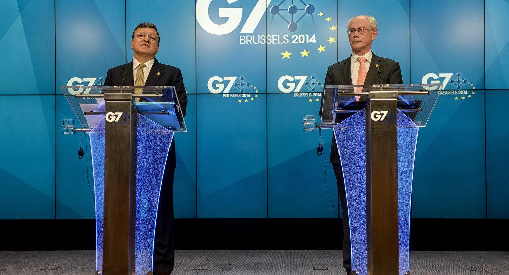 Саммит стран G7 в Брюсселе