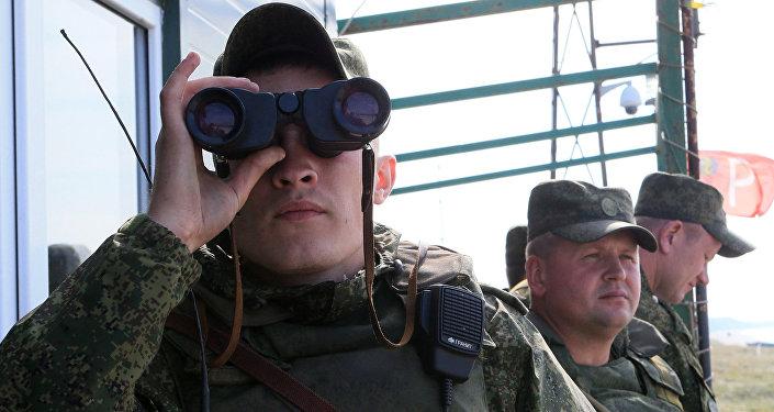 Военные учения Щит Союза 2015