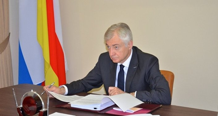 Председатель парламента РСО-Алания Алексей Мачнев