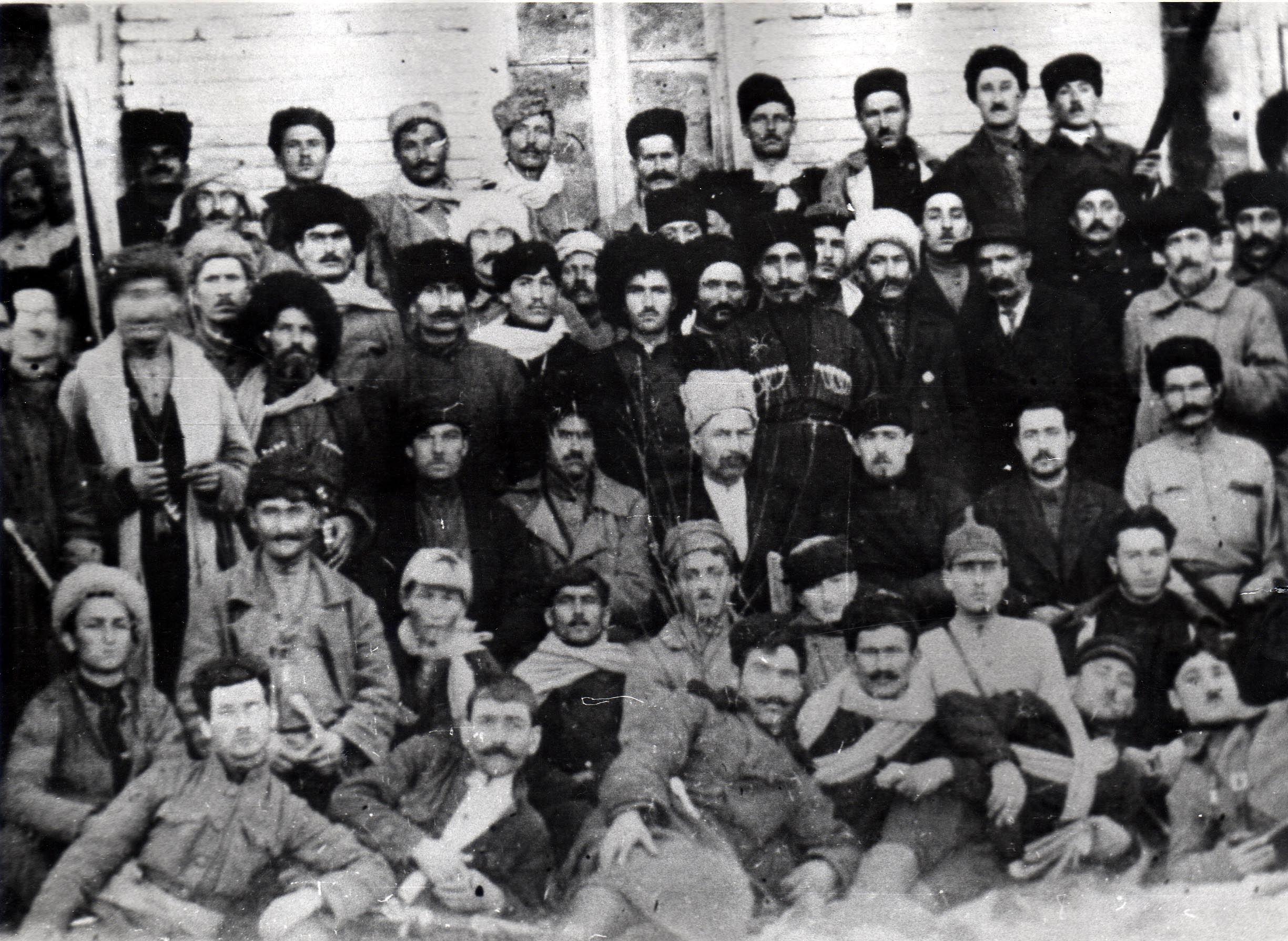 Югоосетинские коммунисты 1922 г.
