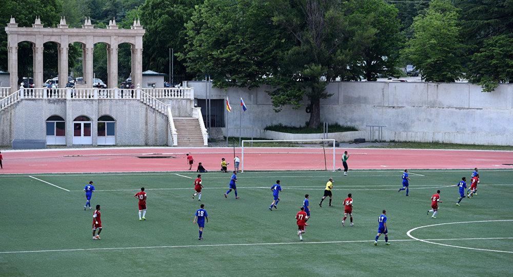 Хуссар ӕмӕ Цӕгат Ирыстоны футболы командӕтӕн Цхинвалы ауагъдӕуыд хӕларадон матч.