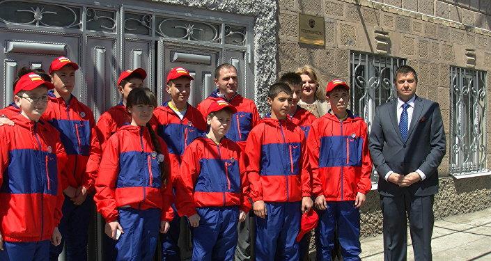 Делегация РЮО едет на Всемирные играх юных соотечественников