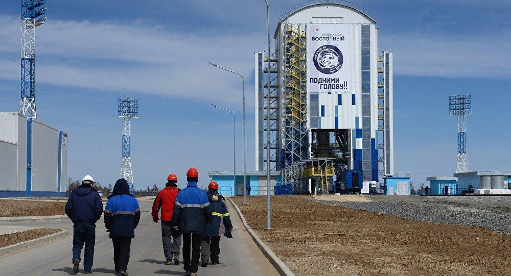 Первый запуск ракеты с нового российского космодрома'Восточный перенесен