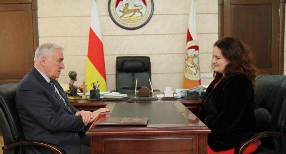 Встреча Л.Тибилова с Уполномоченным по правам ребенка.