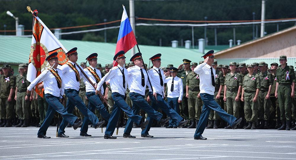 День России отметили на военной базе в РЮО
