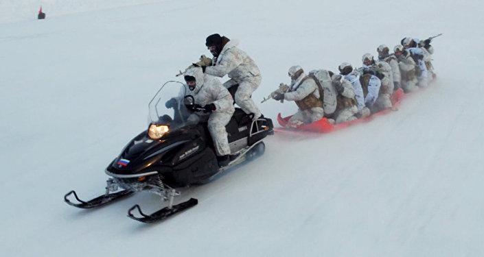 Чеченский спецназ штурмует Арктику