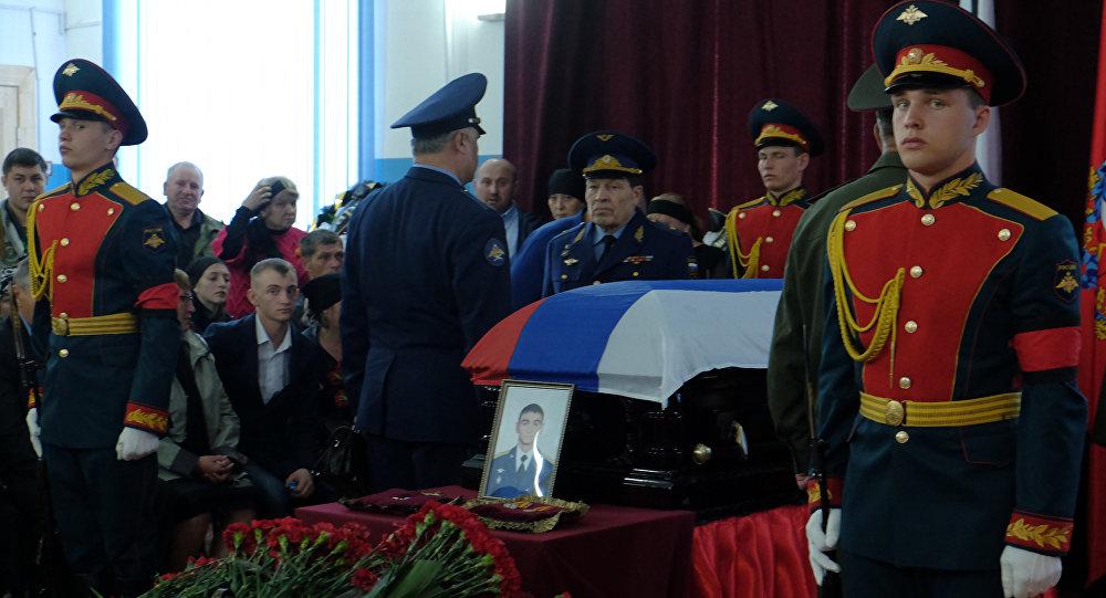 Тело погибшего вСирии российского офицера отправлено вОренбург