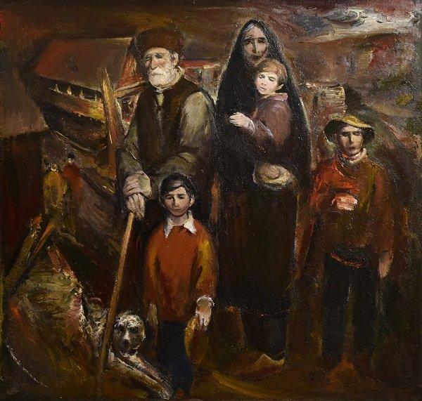 Экспонат Художественного музея им. Туганова