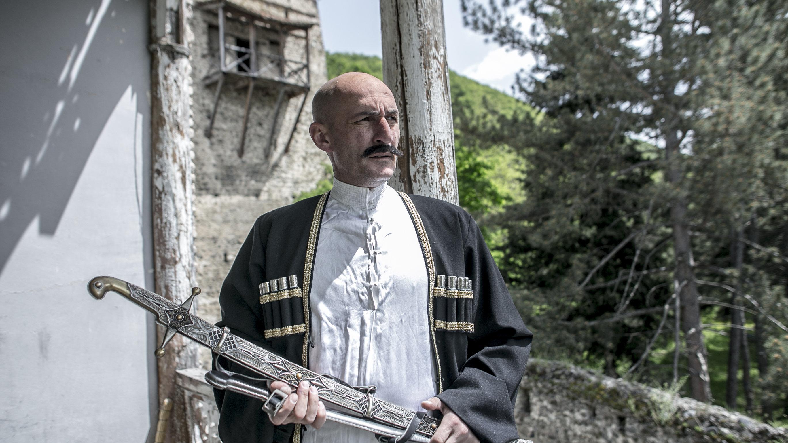 Съемки фильма Геноцид