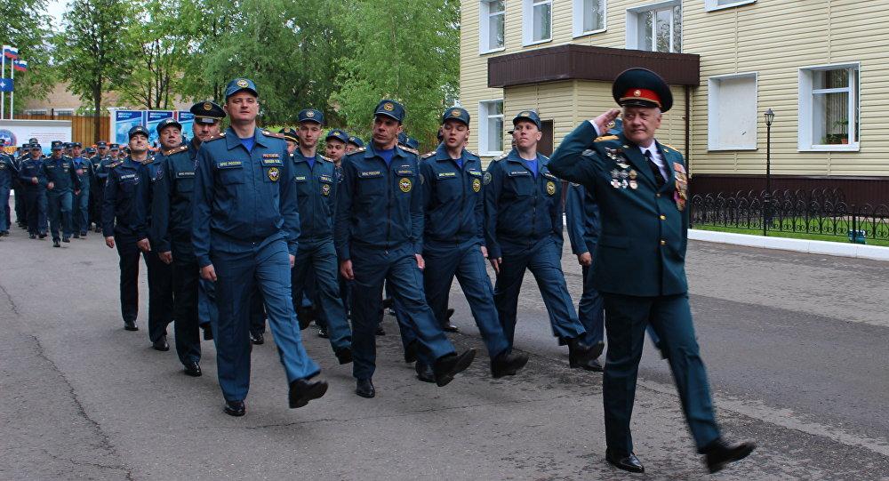 Отряд МЧС Лидер отправляется на разминирование в Южную Осетию