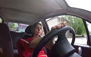 Сакинат Магомедова в автошколе