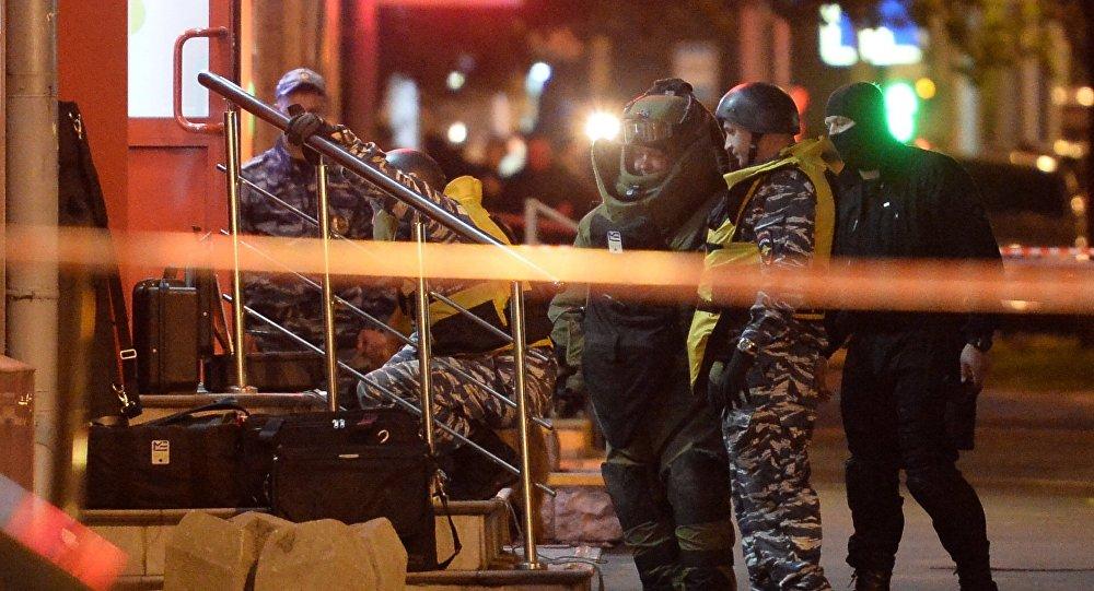 В столицеРФ устранили налётчика, захватившего заложников вбанке