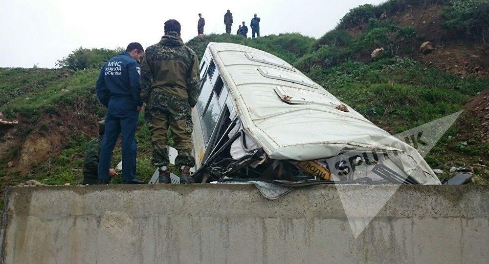 Авария на трассе в Ленингор